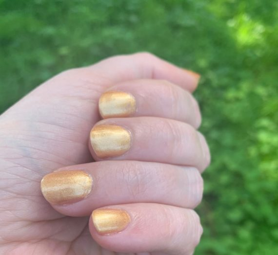 Swatch and Review: Soothing Soul Nail Lacquer's Earth Dragon