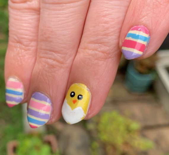 Happy Easter! Cute Manicure For Easter