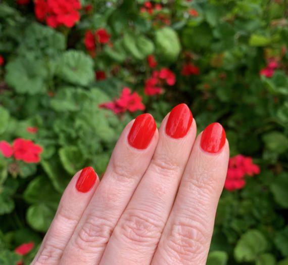 Orly Cherry Bomb – Breathable Line First Impressions